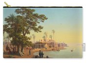 On The Banks Of The Nile Carry-all Pouch
