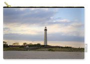 On The Beach At Cape May Lighthouse Carry-all Pouch