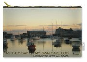 On The Cape Quote Carry-all Pouch