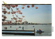 On The Cherry Blossom Dock Carry-all Pouch