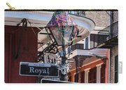 On The Corner Of Royal Street Carry-all Pouch