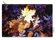 On The Forest Floor Vivid Colors Carry-all Pouch