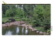 On The Grounds At Cryastal Bridges Carry-all Pouch