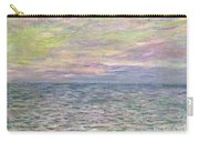 On The High Seas Carry-all Pouch by Claude Monet