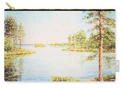 On The Lake In A Sunny Day Carry-all Pouch