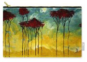On The Pond By Madart Carry-all Pouch