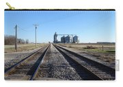 On The Right Tracks Carry-all Pouch
