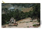 On The Road To Virginia City Nevada 15 Carry-all Pouch