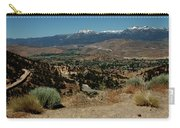 On The Road To Virginia City Nevada 20 Carry-all Pouch