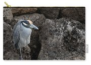 On The Rocks - Yellow-crowned Night Heron Carry-all Pouch