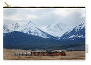 On The Rocky Mountain Front Carry-all Pouch
