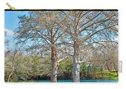 On The San Marcos River Texas Carry-all Pouch