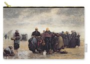On The Shore Carry-all Pouch by Jacques Eugene Feyen
