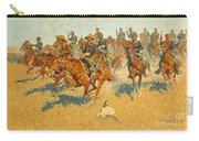 On The Southern Plains Frederic Remington Carry-all Pouch