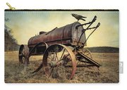 On The Water Wagon - Agricultural Relic Carry-all Pouch by Gary Heller