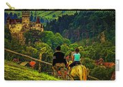 On The Way To Bran Castle Carry-all Pouch