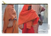 On The Way To Morning Prayers - India Carry-all Pouch
