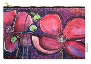 Once I Was In A Garden Filled With Poppies Carry-all Pouch