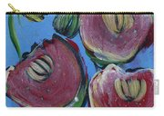 Once Upon A Yoga Mat Poppies 3 Carry-all Pouch