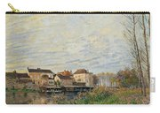 One Evening At Moret End Of October Carry-all Pouch