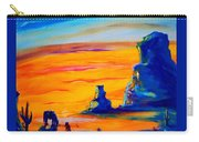 One Lonesome Cowboy Carry-all Pouch
