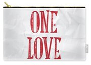 One Love Carry-all Pouch