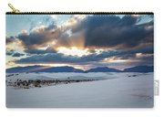 One More Moment - Sunburst Over White Sands New Mexico Carry-all Pouch