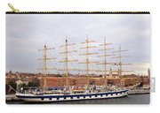 One Of Star Clipper's Masted Cruise Liners Docked In Venice Italy Carry-all Pouch