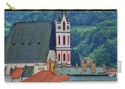 One Of The Churches In Cesky Kumlov In The Czech Republic Carry-all Pouch