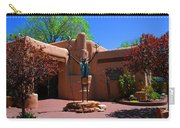 One Of The Many Art Galleries In Santa Fe Carry-all Pouch by Susanne Van Hulst