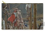 One Of The Soldiers With A Spear Pierced His Side Carry-all Pouch by Tissot