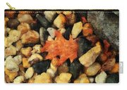 One Orange Leaf Carry-all Pouch