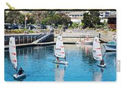 One-person Sailboats By The Commercial Pier In Monterey-california Carry-all Pouch
