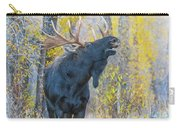 One Proud Bull Moose Carry-all Pouch