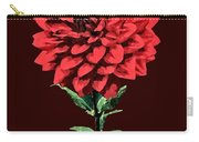 One Red Dahlia Carry-all Pouch