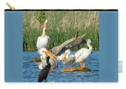 One Sassy Pelican And Friends, West Central Minnesota Carry-all Pouch