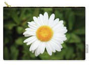 One White Daisy Carry-all Pouch