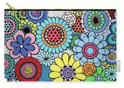 One Yellow Bloom Carry-all Pouch