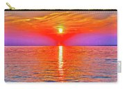 Oneida Lake Sunset Art Carry-all Pouch