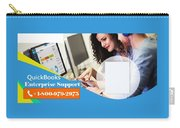 Online Support Phone Number For Quickbooks Enterprise Carry-all Pouch