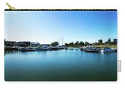 Ontario Beach Park Marina Carry-all Pouch by William Norton