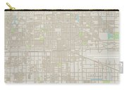 Ontario California Us City Street Map Carry-all Pouch