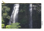 Opaekaa Falls On Kauai Before A Storm Carry-all Pouch