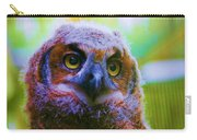 Opalescent Owl Carry-all Pouch