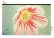 Open Bi-coloured Tulip Carry-all Pouch