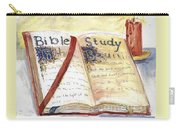 Open Bible Carry-all Pouch
