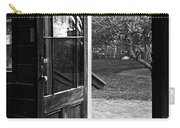 Open Door B-w Carry-all Pouch