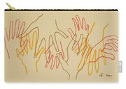 Open Hands Drawing Carry-all Pouch
