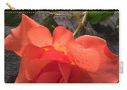 Opened Rose  Carry-all Pouch