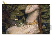 Ophelia Carry-all Pouch by John William Waterhouse